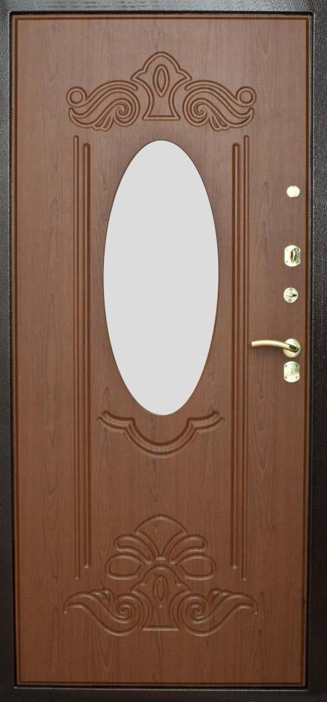 стальные двери с зеркалом российского производства