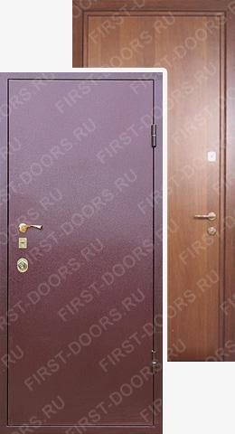 стальные двери с отделкой порошковым напылением